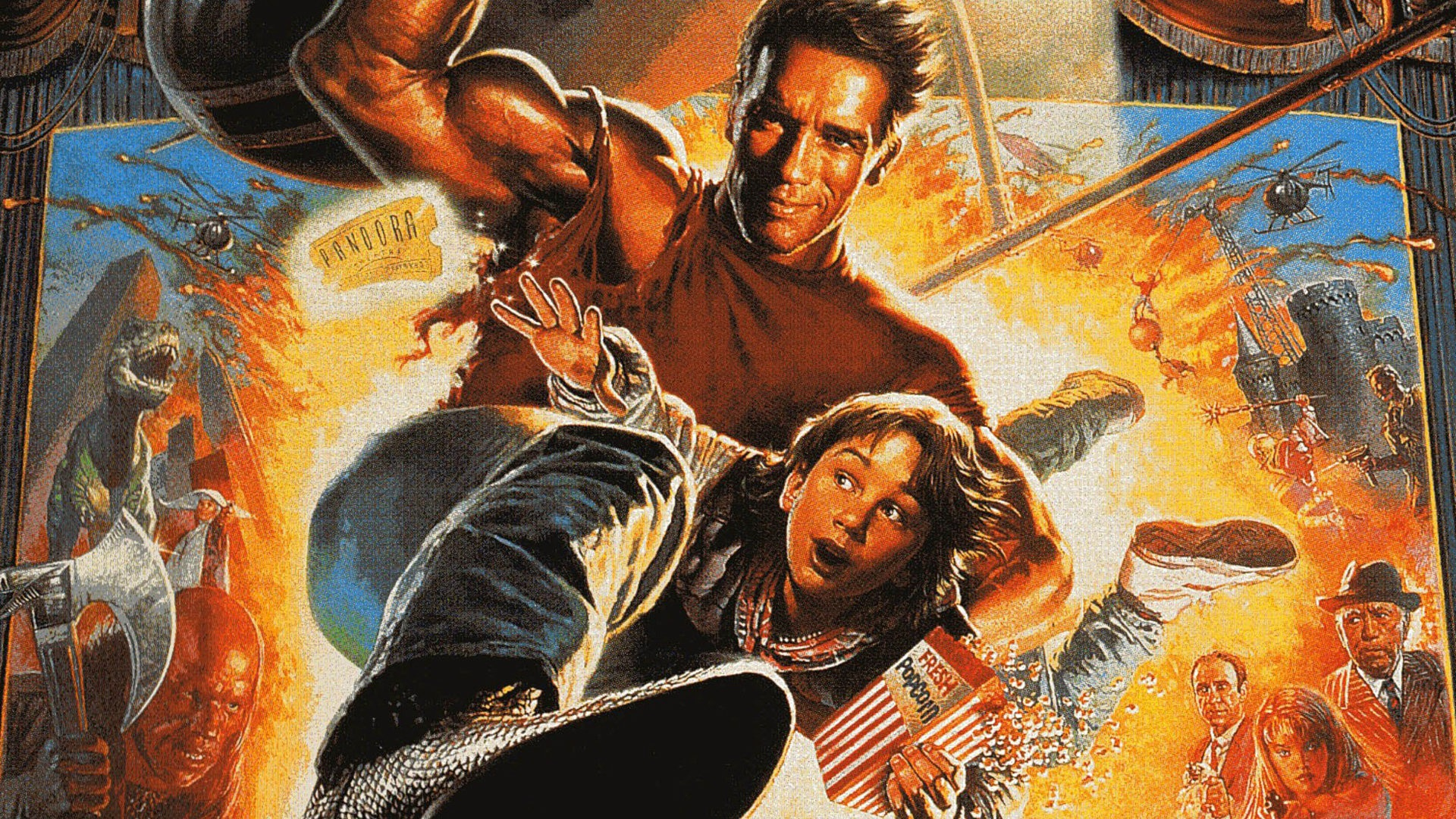 exhuming the hollywood action hero viewed through a lens
